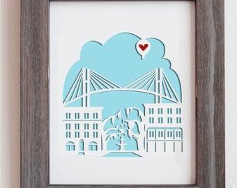 Savannah, Georgia - Personalized Gift or Wedding Gift