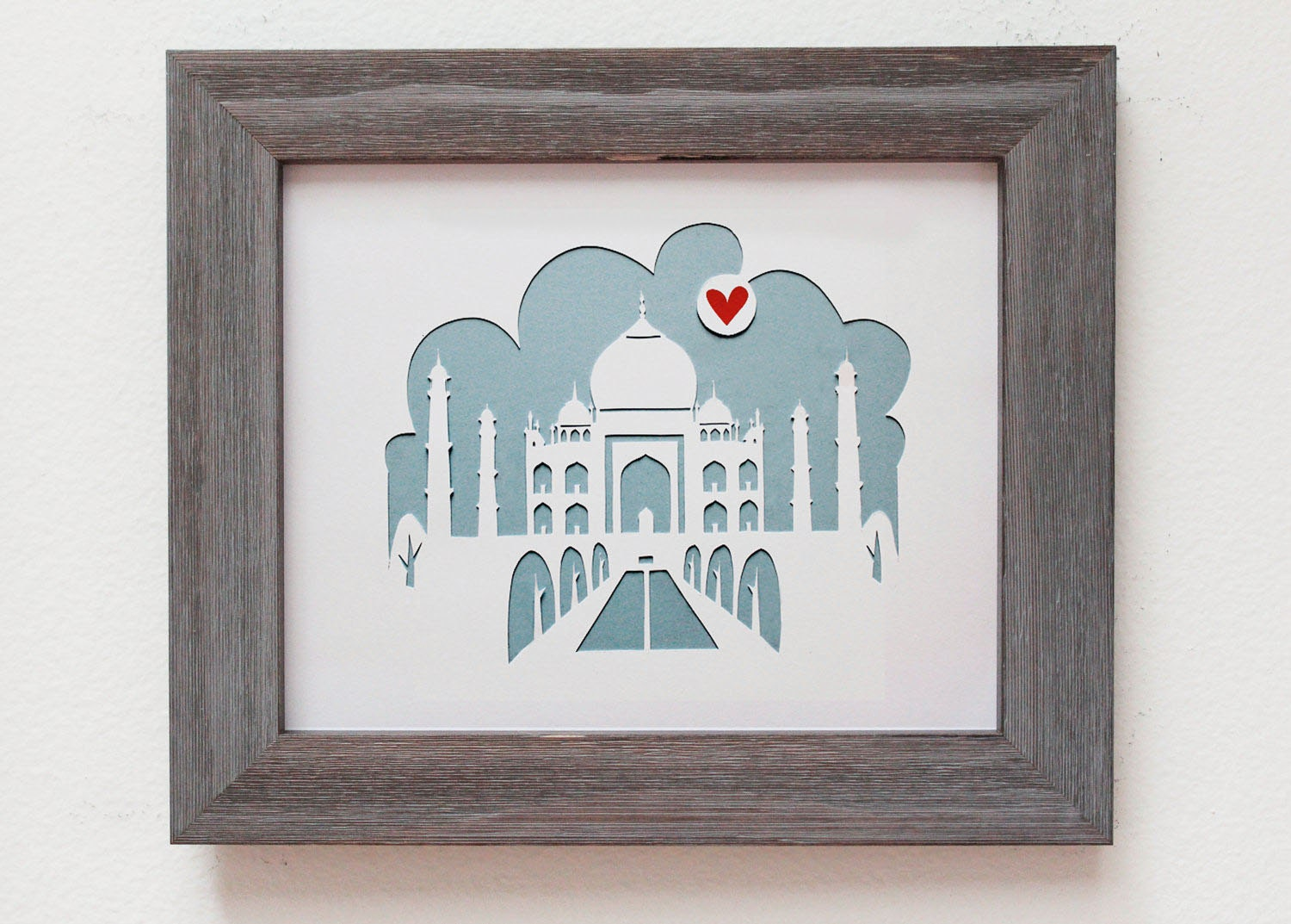 Taj Mahal India Personalized Gift Or Wedding Gift Etsy