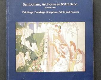 Symbolism, Art Nouveau & Art Deco voluume one  Auction Catalogue