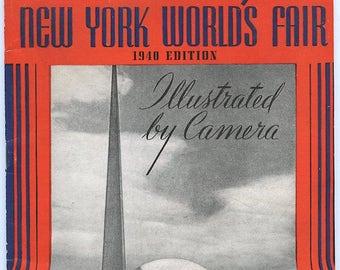New York World's Fair 1940 Edition photo booklet