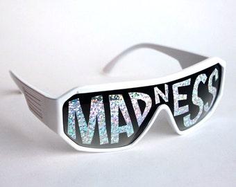 Rasslor MADNESS Mirror Shield Sunglasses