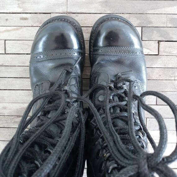 Vintage Leather Combat Corcoran Boots - image 7