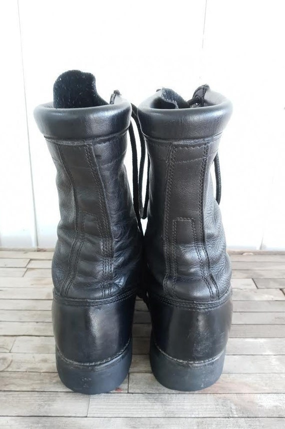 Vintage Leather Combat Corcoran Boots - image 3