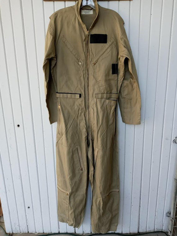 60's Military Flight Suit Coveralls