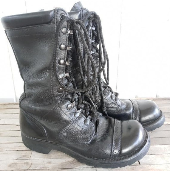 Vintage Leather Combat Corcoran Boots - image 2