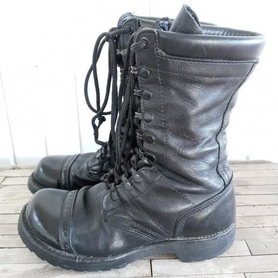 Vintage Leather Combat Corcoran Boots - image 4