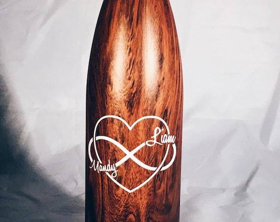 Wedding Infinite Love Swell Bottle - Wedding, Christmas, Anniversary, Valentine's Day Swell Bottle
