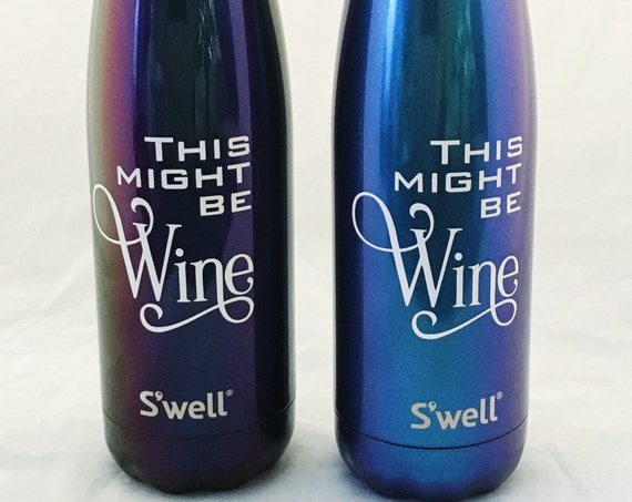 This might be Wine Swell Bottles - Girlfriends, Bridesmaids, Friends, Sorority, Wine Swell Bottle, Custom Swell Bottle