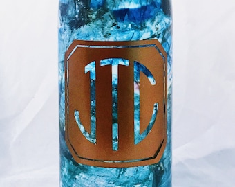 NEW Labradorite Swell bottle - Father's Day Swell, Christmas Swell,Personalized Swell, Custom Swell, Swell Bottle
