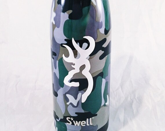 Camo Swell Bottle - Male, Father's Day, Hunter, Outdoors, Outdoorsman, Woodsman, Groosmen Swell Bottle