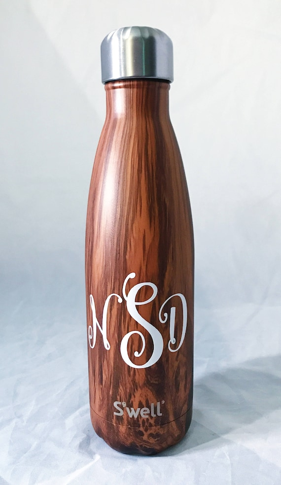 Monogram Swell Bottle  S'well bottle, swell bottle, Gift for her