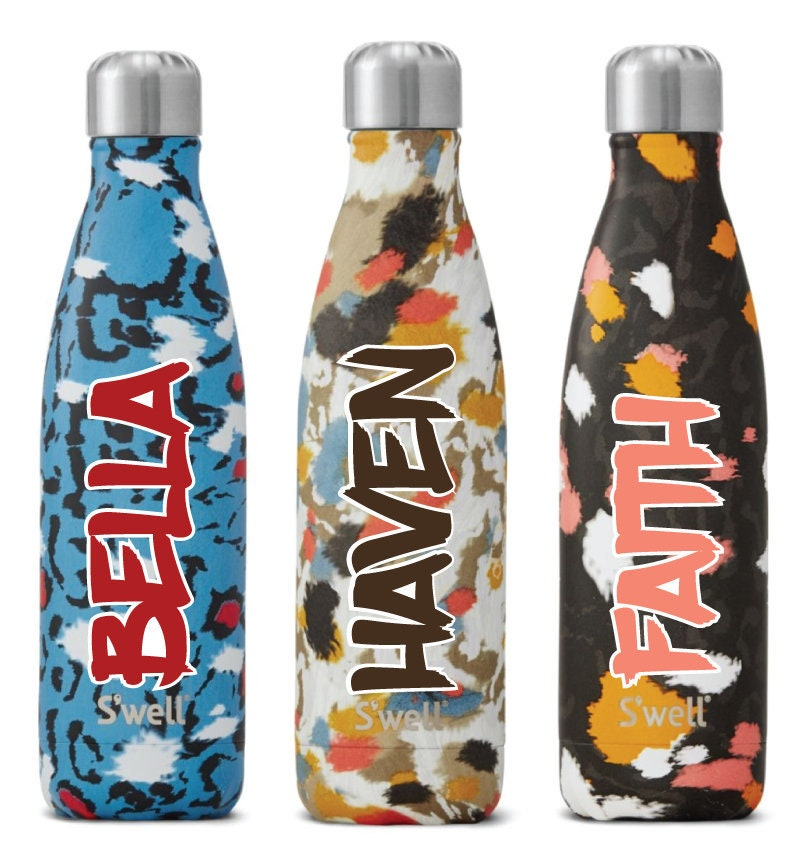 new exotic collection personalized swell bottles bridesmaid gift
