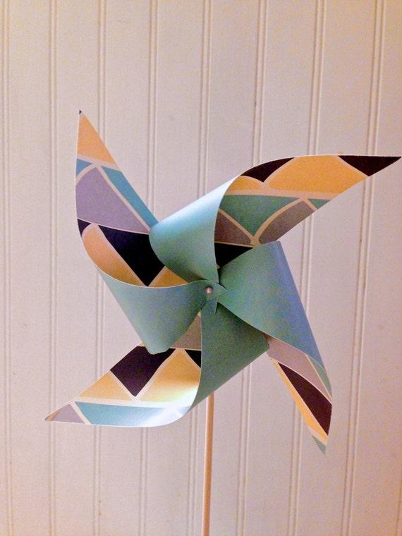 8 Custom Geometric Pinwheels