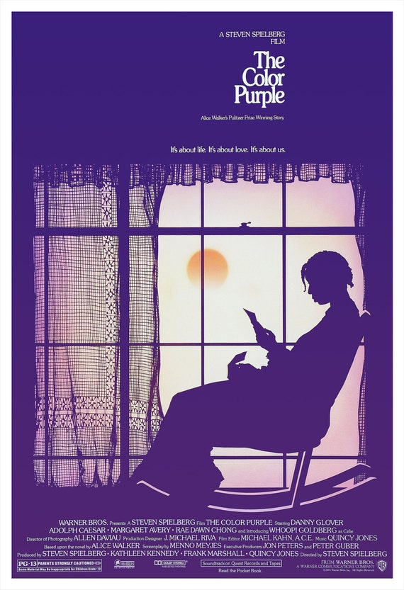 The Color Purple Movie Poster Print 13x19 or | Etsy
