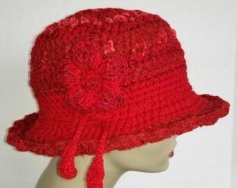 Red Fashion Hat