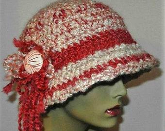 Fashion Cloche - Ladies Hand Crocheted