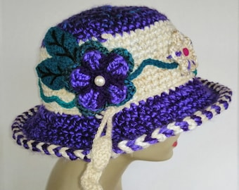 Floral Artisan Hat