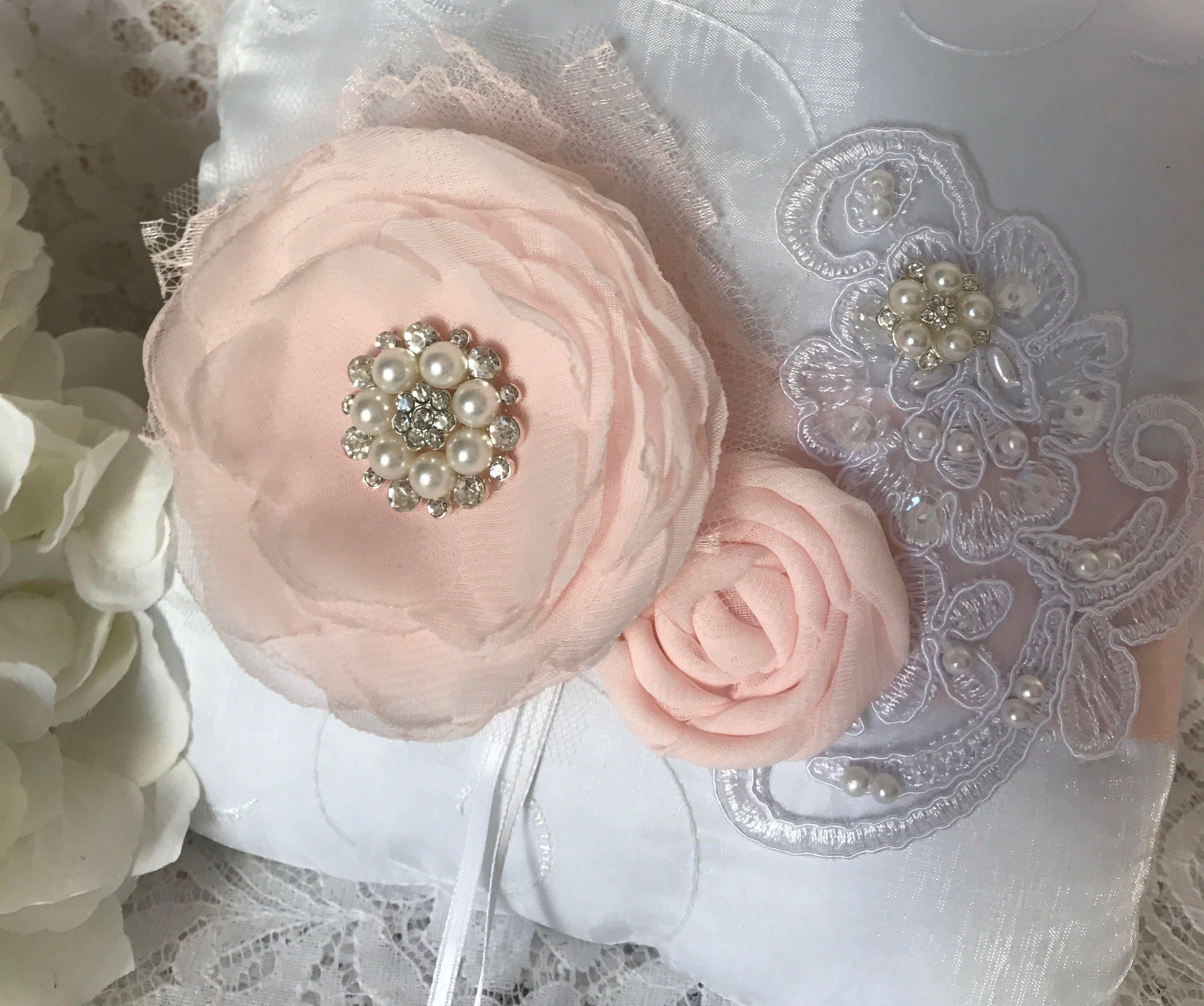 Blush Ring Bearer Pillow Wedding Accessory Ring Pillow | Etsy