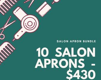 Stylish Salon Apron, PPG, Salon Apron, Salon gear, PPE