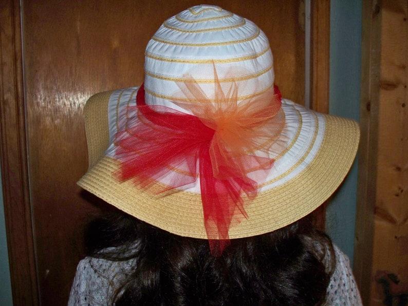 Women/'s straw hat