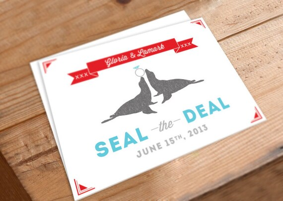 Dating seal the deal