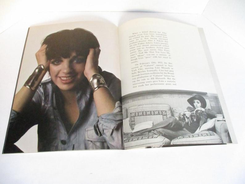 LIZA 1974 Liza Mannelli Souvenir Program
