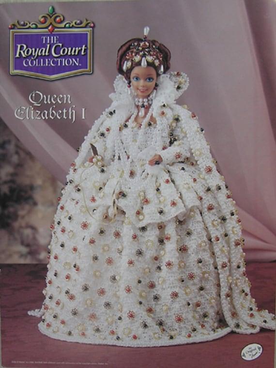 Royal Court crochet pattern booklet NEW Princess Grace ~ fits Barbie dolls