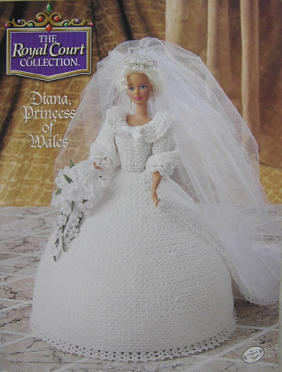 ROYAL PRINCESS WEDDING GOWN PATTERN FOR BARBIE DOLL
