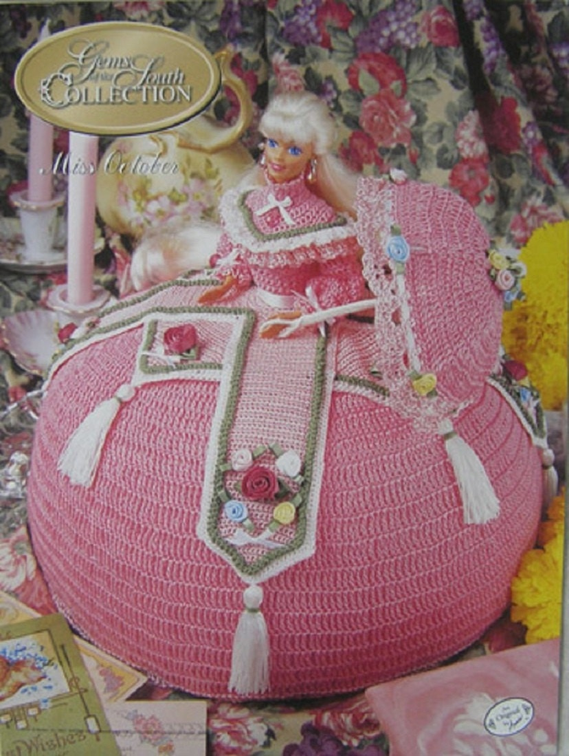 Miss May Gems of the South Outfit For Barbie Doll Annie/'s Crochet Pattern
