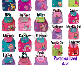 Personalized Toddler backpack / Monogrammed Toddler Backpack / girls backpack / boys backpack / 40+ designs