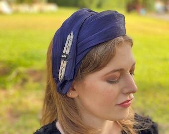 headband for special event/  ladies hairband/ occasion band UK/ Ascot headwear/ race day headband/ fancy turban/ womens headband