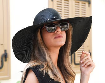 37e2b26db Dressy straw hat | Etsy