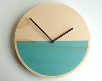 Objectify Demi Blue Wall Clock - Medium Size