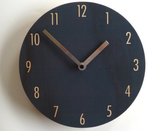 Objectify Charcoal Shade Wall Clock