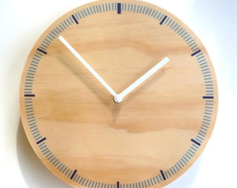 Objectify Blue Markers Wall Clock - Medium Size