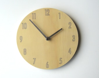 Objectify Vanilla Shade Wall Clock