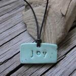 Ceramic Word Necklaces