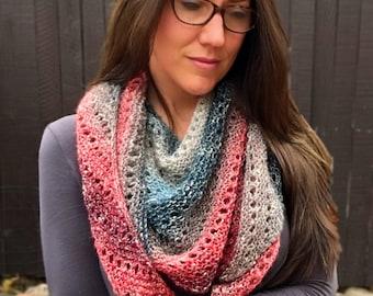 Knitting Pattern ~ Moonstone Shawl ~ Knitting Pattern