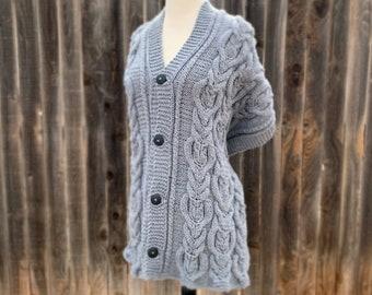 Knitting Pattern ~ Perched Owl Shawl ~ Knitting Pattern