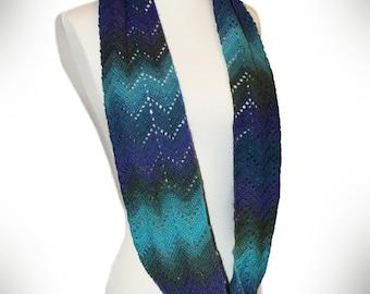 Crochet Pattern-- Richmond Infinity Lace Scarf --Crochet Pattern