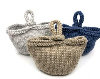 Knitting Pattern ~ Trinket Bag ~ Knitting Pattern
