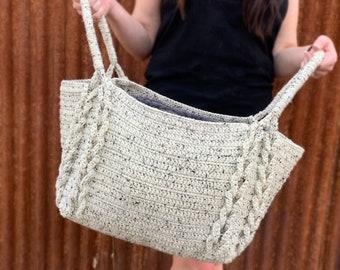 Crochet Pattern ~ Notions Basket ~ Crochet Pattern