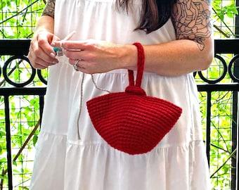 Crochet Pattern-- Bauble Bag - Crochet Pattern