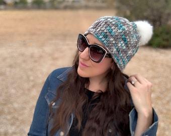 Knitting Pattern ~ Winter Chill Beanie ~ Knitting Pattern
