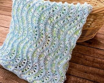 Knitting Pattern ~ Angel Baby Blanket ~ Knitting Pattern