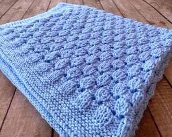 Knitting Pattern ~ Lullaby Baby Blanket ~ Knitting Pattern