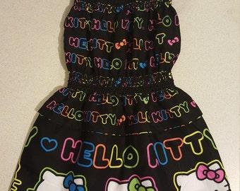 1548001a2 Girl's Spring/ Summer Hello Kitty Dress