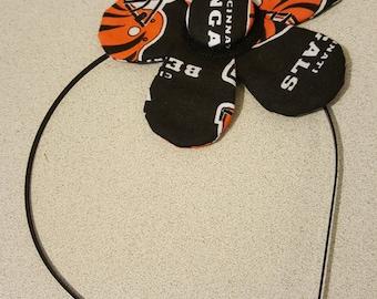 Cincinnati Bengals Flower Headband