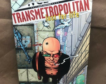 Transmetropolitan - DC Comic Vertigo - Warren Ellis -TPB- Lust for Life