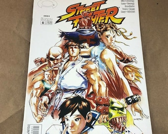 Street Fighter #6 2003 Image Comics Cover B